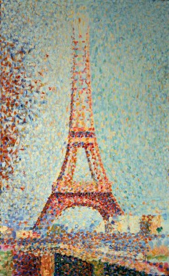 The Eiffel Tower - Georges-Pierre Seurat