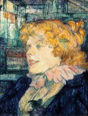 THE ENGLISH WOMAN - Henri de Toulouse-Lautrec