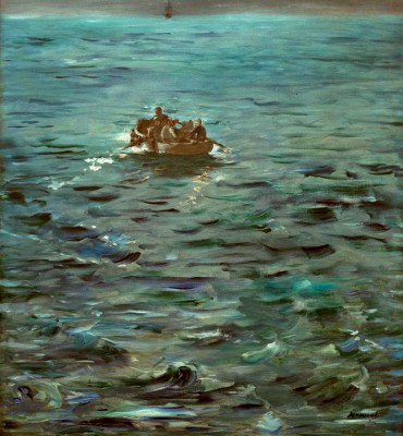 The Escape of Rochefort - Édouard Manet
