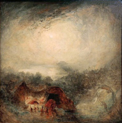 The Evening of the Deluge - William Turner