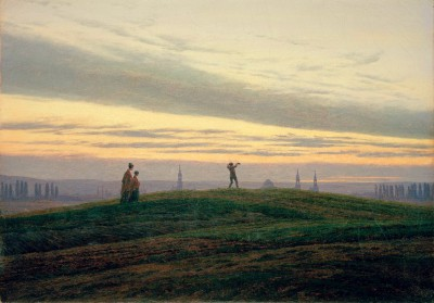 The evening star - Caspar David Friedrich