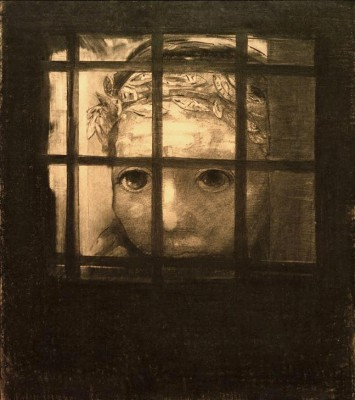 The face behind bars - Odilon Redon