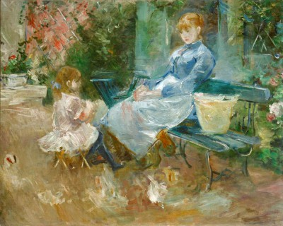 The fairy tale - Berthe Morisot