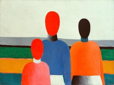 The female figures - Kazimierz Malewicz