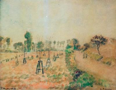 The Field Path - Camille Pissarro