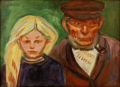 The fisherman and his daughter - Edvard Munch