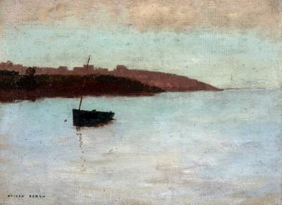 The fishing boat - Odilon Redon