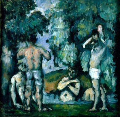 The five bathers - Paul Cézanne
