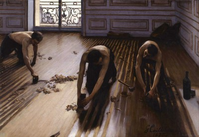 The floor planers - Gustave Caillebotte