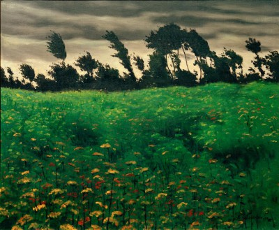 The flowering field - Félix Vallotton