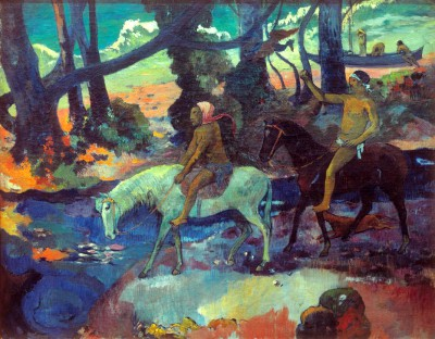 The Ford or The Flight - Paul Gauguin