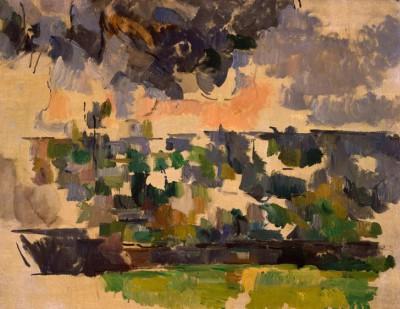 The Garden at Les Lauves - Paul Cézanne