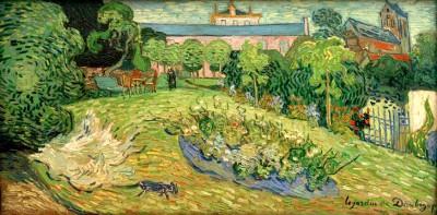 The garden of Daubigny - Vincent van Gogh