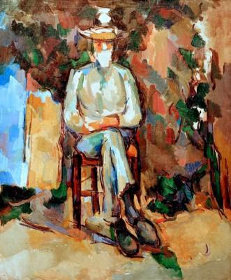 The Gardener Vallier - Paul Cézanne