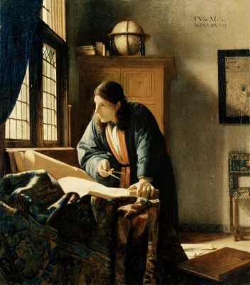 The Geographer - Jan Vermeer
