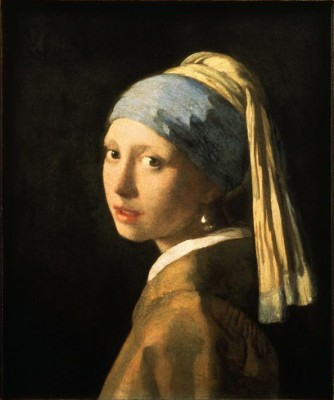 The girl with the pearl earring - Jan Vermeer