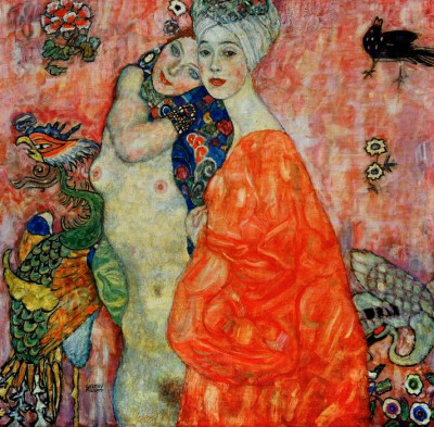 THE GIRLFRIENDS - Gustav Klimt