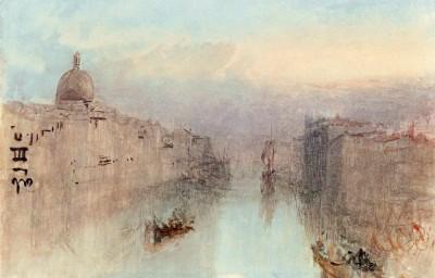The Grand Canal and San Simeone Piccolo - William Turner