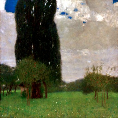 THE GREAT POPLAR I - Gustav Klimt