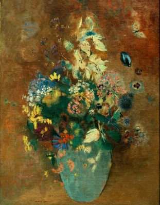 The green vase - Odilon Redon