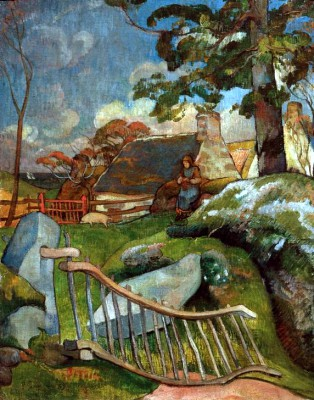The Gutter (Swineherd) - Paul Gauguin