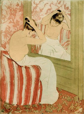 The Hairdo - Mary Cassatt