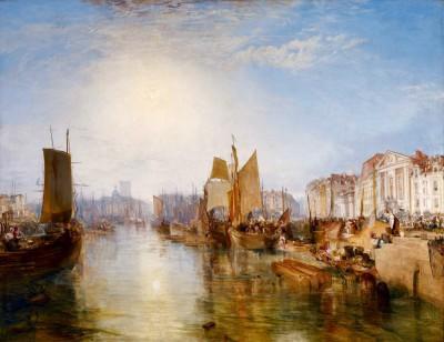 The Harbor of Dieppe - William Turner