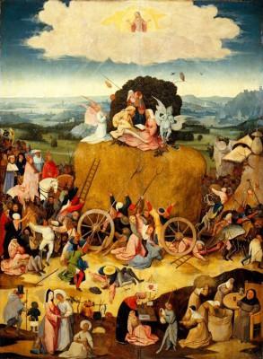 THE HAY CART - Hieronim Bosch
