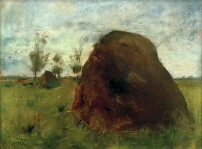 The haystacks - Lesser Ury