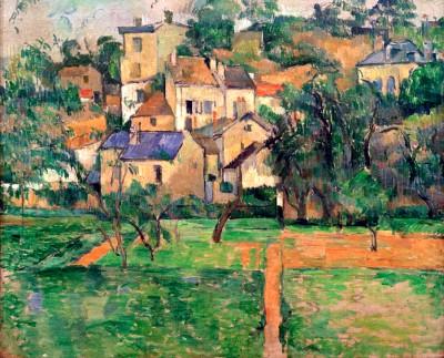 The Hermitage in Pontoise - Paul Cézanne
