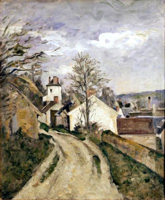 The house of doctor Gachet in Auvers - Paul Cézanne