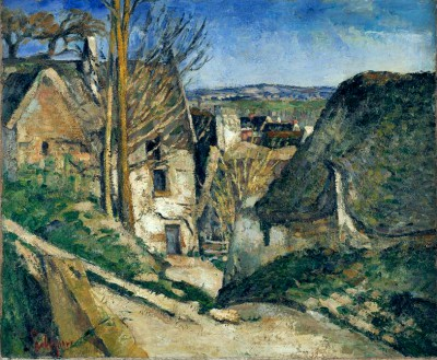 The house of the hanged man in Auvers - Paul Cézanne