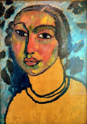 The Jewish girl - Aleksiej Jawlensky