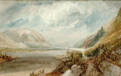 The Junction of the Lahn - William Turner