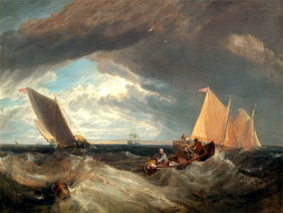 The Junction of the Thames and the Medway - William Turner
