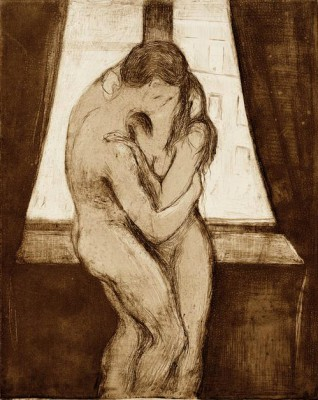 The kiss - Edvard Munch