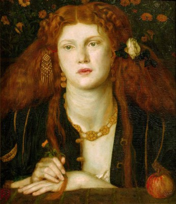 The kissed mouth - Dante Gabriel Rossetti