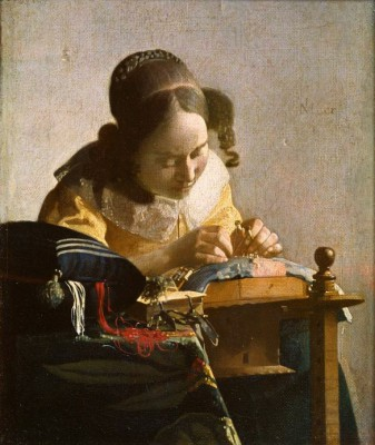 The Lacemaker - Jan Vermeer