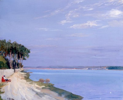 The Lake - Mimizan - John Lavery