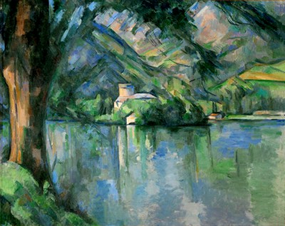 The Lake of Annecy - Paul Cézanne