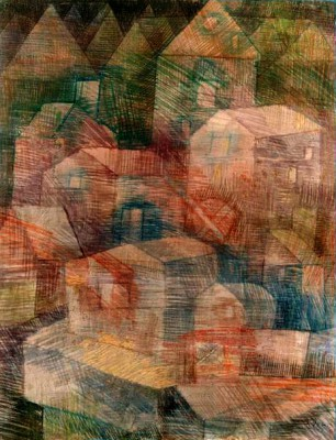 The last village in the Ph. Valley - Paul Klee