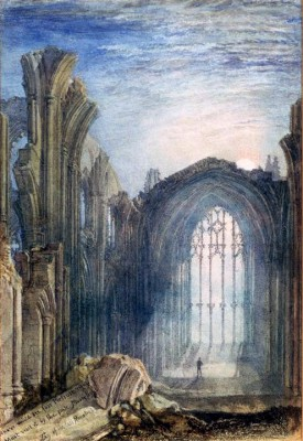 The Lay of the Last Minstrel - William Turner