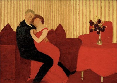 The lie II - Félix Vallotton