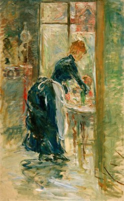 The little servant - Berthe Morisot
