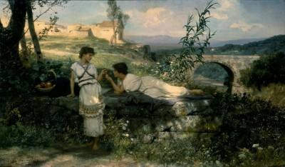 The lucky charm - Henryk Siemiradzki