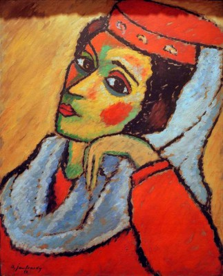 The Macedonian woman - Aleksiej Jawlensky