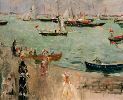 The Marina, Isle of Wight - Berthe Morisot