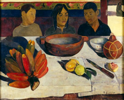 The Meal or Bananas - Paul Gauguin