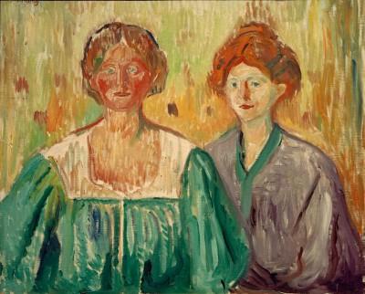 The Meisner sisters - Edvard Munch