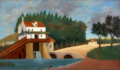 The Mill - Henri Rousseau